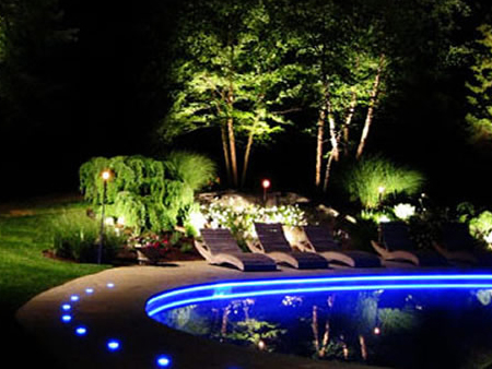 Outdoor Swimming Pool Lighting Vacaville, CA