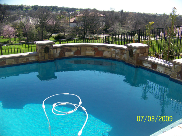 recent swimming pool projects from around vacaville ca